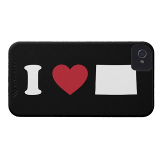 Amo Colorado Case-Mate iPhone 4 Coberturas