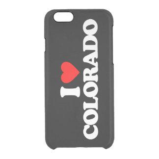 AMO COLORADO FUNDA CLEAR PARA iPhone 6/6S