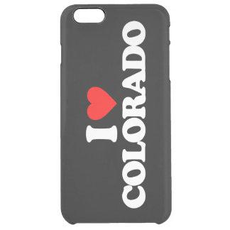 AMO COLORADO FUNDA CLEAR PARA iPhone 6 PLUS