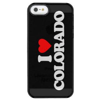 AMO COLORADO FUNDA CLEAR PARA iPhone SE/5/5s