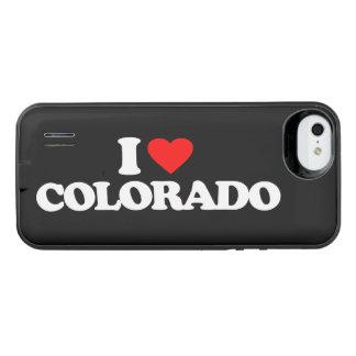 AMO COLORADO FUNDA CON BATEÍA PARA iPhone SE/5/5s