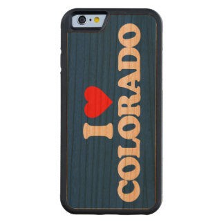AMO COLORADO FUNDA DE iPhone 6 BUMPER CEREZO