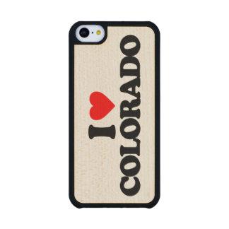 AMO COLORADO FUNDA DE iPhone 5C SLIM ARCE