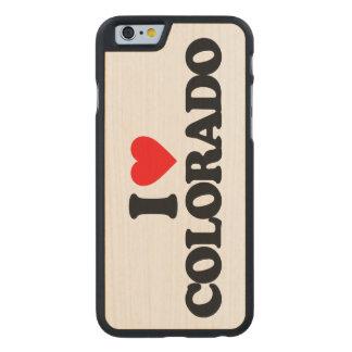 AMO COLORADO FUNDA DE iPhone 6 CARVED® SLIM DE ARCE