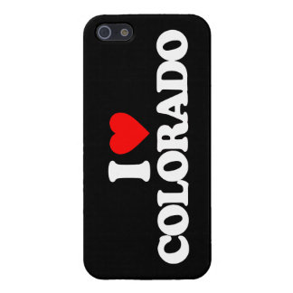 AMO COLORADO iPhone 5 FUNDA