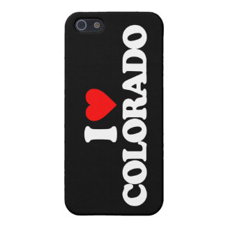 AMO COLORADO iPhone 5 FUNDAS