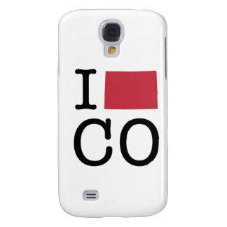 Amo Colorado Funda Para Galaxy S4