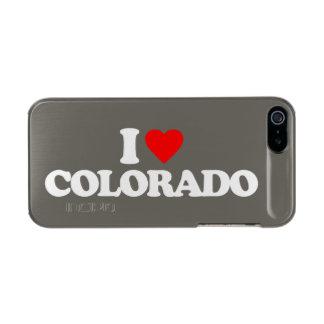 AMO COLORADO FUNDA PARA iPhone 5 INCIPIO FEATHER SHINE