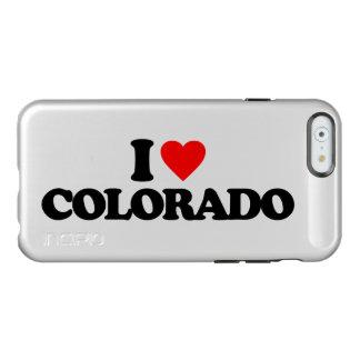 AMO COLORADO FUNDA PARA iPhone 6 PLUS INCIPIO FEATHER SHINE