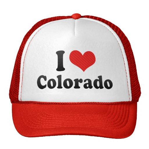 Amo Colorado Gorras De Camionero