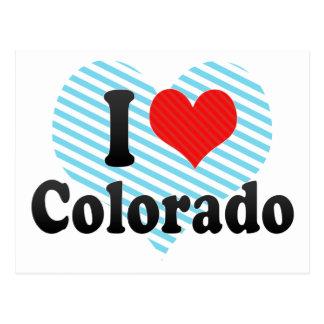 Amo Colorado Postales