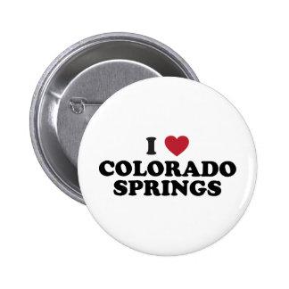 Amo Colorado Springs Pin Redondo De 2 Pulgadas