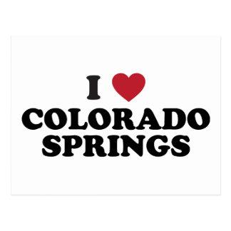 Amo Colorado Springs Postales