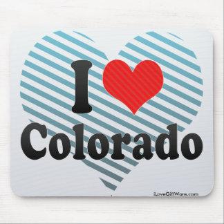 Amo Colorado Alfombrilla De Raton