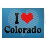 Amo Colorado Tarjetas