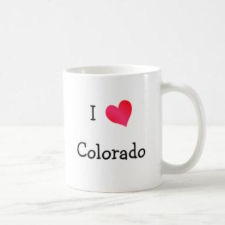 Amo Colorado Taza Clásica