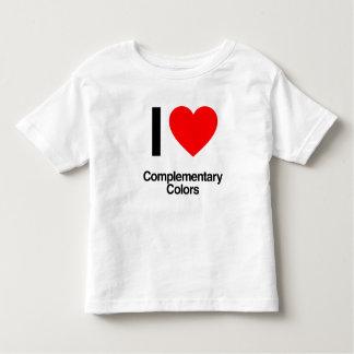 amo colores complementarios t-shirts