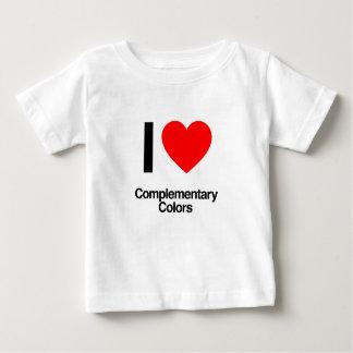 amo colores complementarios tee shirts