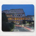 Amo Colosseum por noche Alfombrilla De Raton