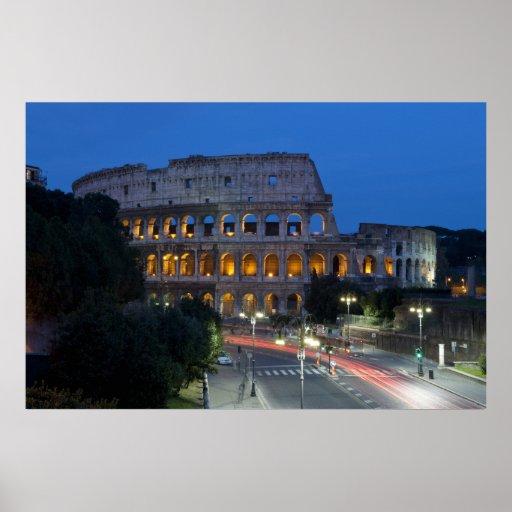 Amo Colosseum por noche Impresiones