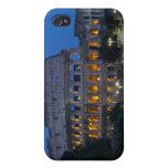 Amo Colosseum por noche iPhone 4 Carcasa