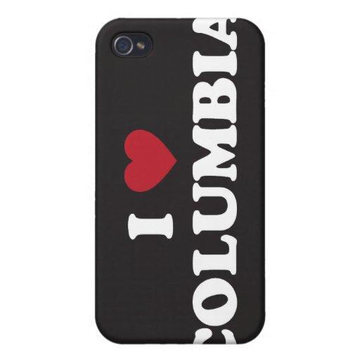 Amo Columbia iPhone 4/4S Carcasa