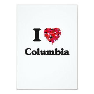 "Amo Columbia Missouri Invitación 5"" X 7"""