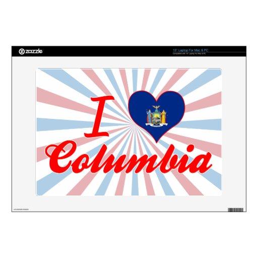Amo Columbia, Nueva York Portátil 38,1cm Skins