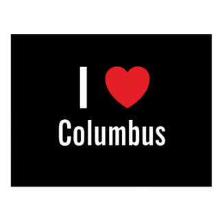 Amo Columbus Tarjetas Postales