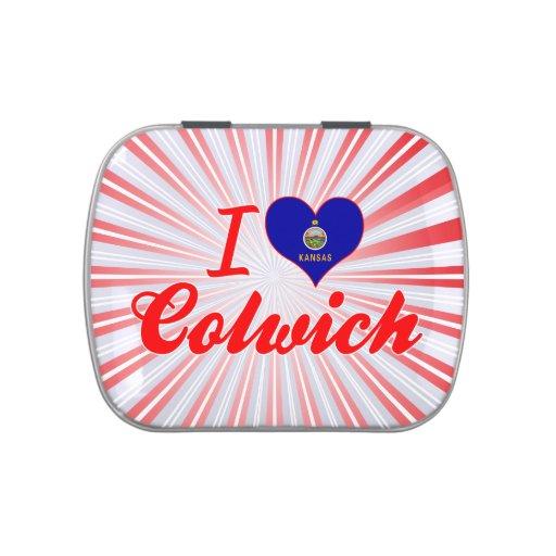 Amo Colwich, Kansas Latas De Caramelos