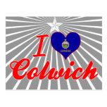 Amo Colwich, Kansas Postales