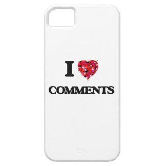Amo comentarios iPhone 5 carcasa