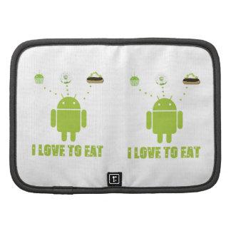 Amo comer el Eclair androide de la magdalena de D Planificadores