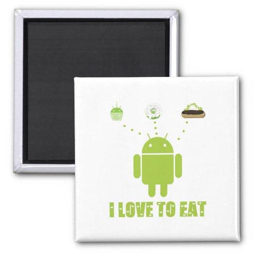 Amo comer (el humor androide del analista de progr imanes