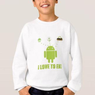 Amo comer (el humor androide del analista de sudadera