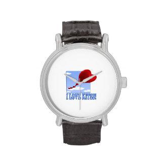 Amo cometas relojes