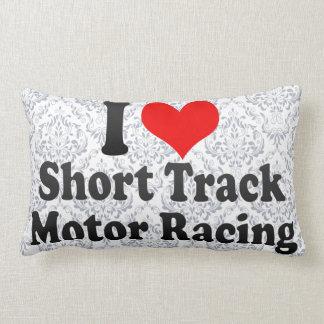 Amo competir con corto del motor de la pista cojin