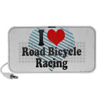 Amo competir con de la bicicleta del camino notebook altavoces