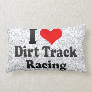 Amo competir con de la pista de tierra cojin