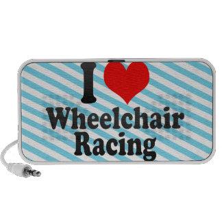 Amo competir con de la silla de ruedas laptop altavoz