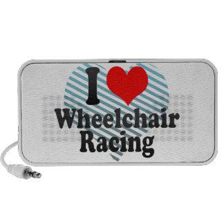 Amo competir con de la silla de ruedas laptop altavoces