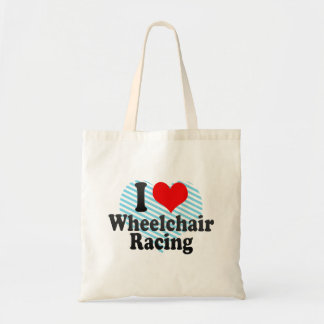 Amo competir con de la silla de ruedas bolsa