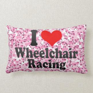Amo competir con de la silla de ruedas cojin
