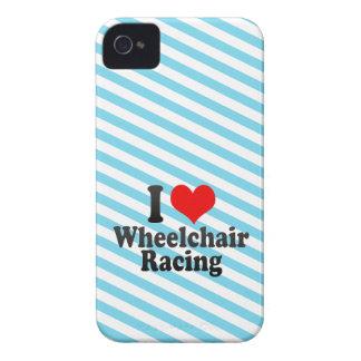 Amo competir con de la silla de ruedas Case-Mate iPhone 4 cárcasa