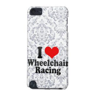 Amo competir con de la silla de ruedas