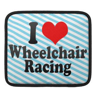 Amo competir con de la silla de ruedas funda para iPads