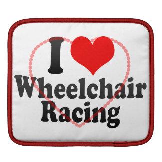 Amo competir con de la silla de ruedas fundas para iPads