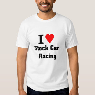Amo competir con de stock car playeras