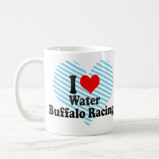 Amo competir con del búfalo de agua taza clásica