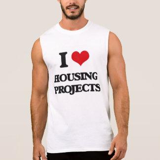 Amo complejos de viviendas camiseta sin mangas